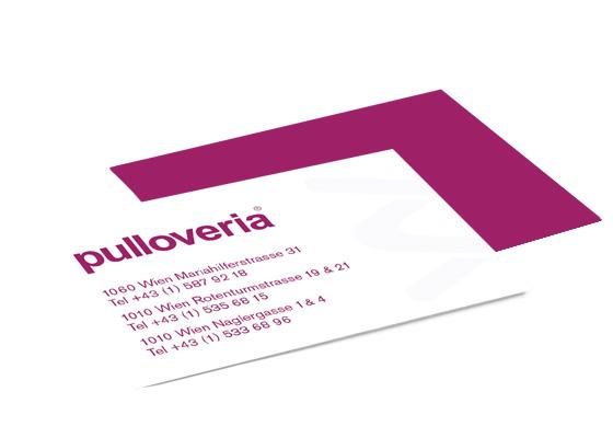 Pulloveria modeboutique for Grafik praktikum wien